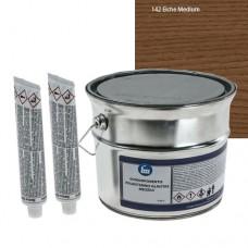 2K polyester filler Oak206